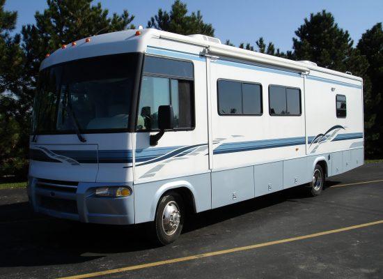 Recreational Vehicle, Class A motorcoach